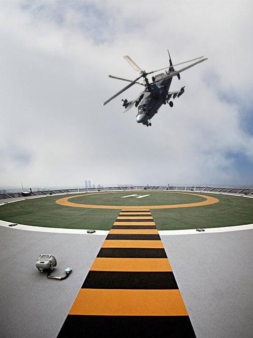 直升机停机坪产品