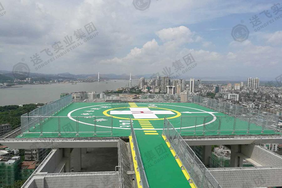 广东汕头·汕头中心医院 屋顶直升机停机坪